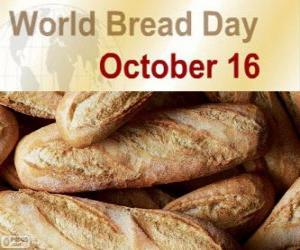 16 October, world bread day puzzle