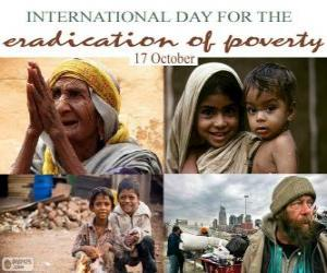17 October, International Day for the Eradication of Poverty puzzle