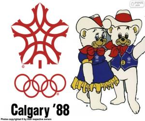 1988 Winter Olympics in Calgary puzzle