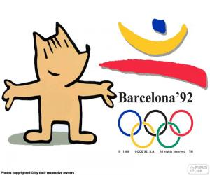 1992 Olympic Games Barcelona puzzle