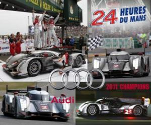 2011 24 Hours of Le Mans Champions Audi R18 TDI puzzle