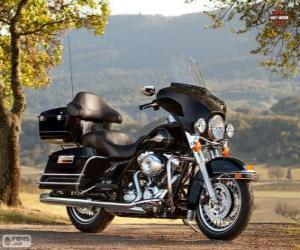 2013 Harley-Davidson FLHTC Electra Glide Classic puzzle