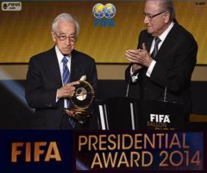 2014 FIFA Presidential Award for Hiroshi Kagawa puzzle