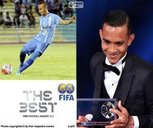 2016 FIFA Puskas award puzzle