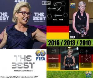 2016 FIFA Women's Coach puzzle