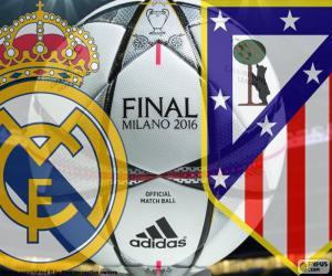 2016 Final Champions League puzzle