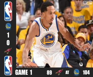 2016 NBA The Finals, Game 1 puzzle