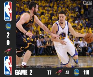 2016 NBA The Finals, Game 2 puzzle