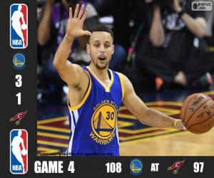 2016 NBA The Finals, Game 4 puzzle