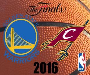 2016 NBA The Finals puzzle