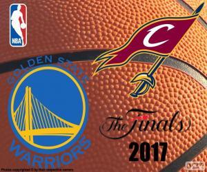 2017 NBA The Finals puzzle