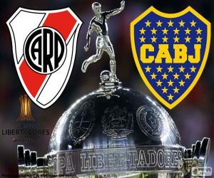 2018 Copa Libertadores final puzzle