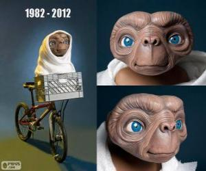 30 Anniversary of ET The Extra-Terrestrial (1982) puzzle
