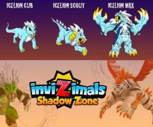 Icelion Cub Icelion Scout Icelion Max Invizimals Shadow Zone