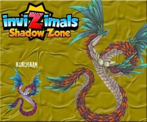 Kukulkan Invizimals Shadow Zone The feathered serpent lives in