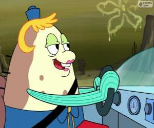 Mrs. Puff is the owner and teacher of a boating school puzzle