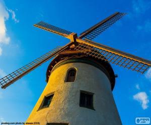 A beautiful windmill puzzle