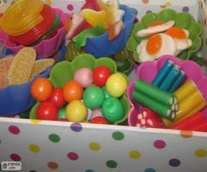 A candy box puzzle