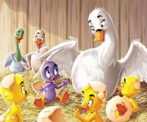 A different duckling puzzle