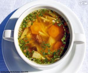 A hot soup puzzle