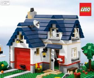 A Lego House puzzle
