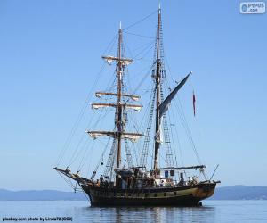 A sailboat puzzle