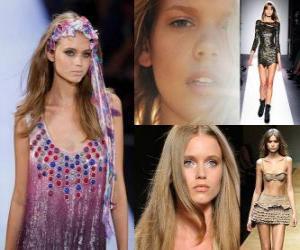 Abbey Lee is an Australian fashion model puzzle
