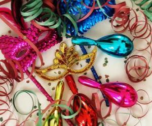 Accessories for Carnival puzzle