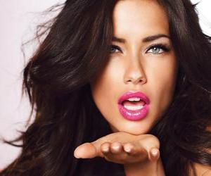 Adriana Lima is a Brazilian model puzzle