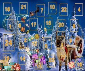 Advent calendar puzzle
