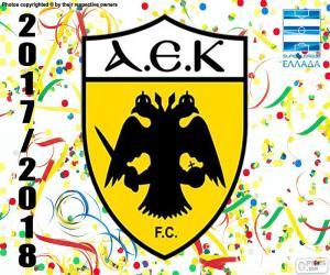 AEK Athens F.C., Super Lig 2017-18 puzzle