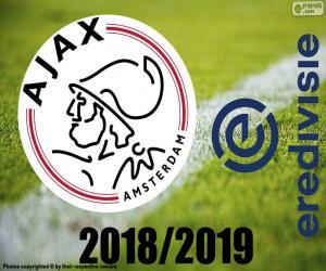 AFC Ajax, champion 2018-2019 puzzle