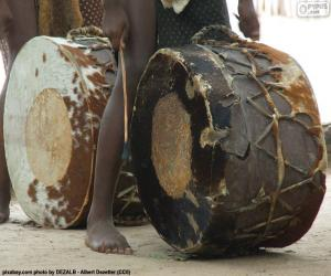 African drums puzzle