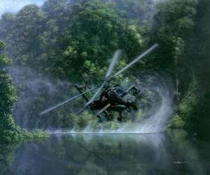 AH-64 Apache helicopter puzzle