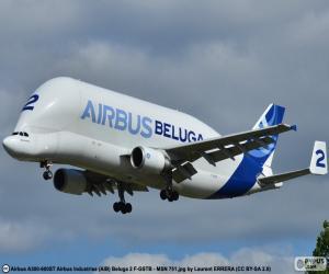 Airbus Beluga puzzle