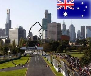 Albert Park Circuit - Australia - puzzle