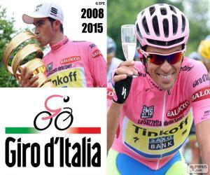 Alberto Contador, Giro 2015 puzzle
