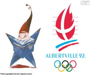 Albertville 1992 Olympic Games puzzle