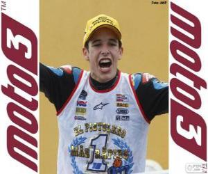 Alex Márquez, 2014 world champion of Moto3 puzzle