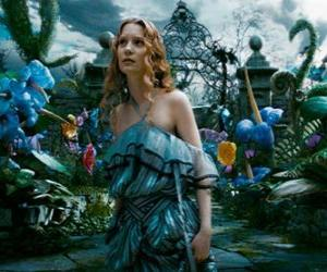 Alice (Mia Wasikowska) in Wonderland puzzle