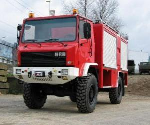 all-terrain fire truck puzzle