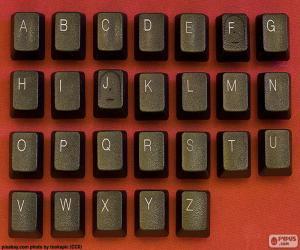 Alphabet the keys puzzle