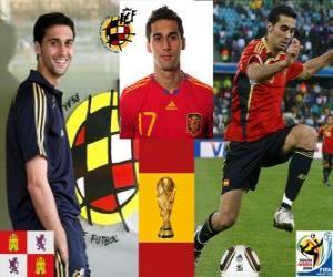 Álvaro Arbeloa (The Spartan) difensore della nazionale spagnola puzzle