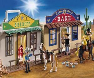 American West Playmovil puzzle