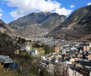 Andorra la Vella, Andorra puzzle