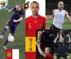 Andrés Iniesta (Sweet Iniesta) Spanish National Team Midfielder puzzle