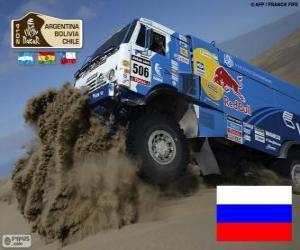 Andrey Karginov, Dakar 2014 puzzle