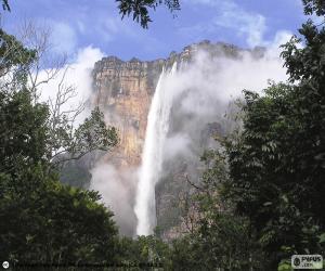 Angel Falls, Venezuela puzzle