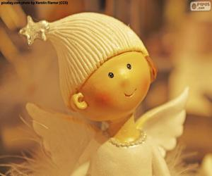 Angel of Christmas puzzle