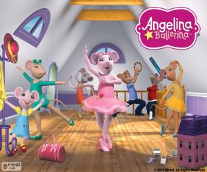 Angelina Ballerina essay puzzle